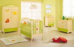 Дитяче ліжко та постільна білизна для новонароджених