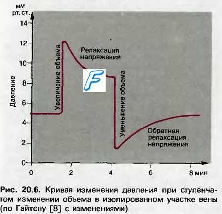 Базальний тонус судин. Розтяжність судин. Трансмуральне тиск. Мобілізація крові з вен.