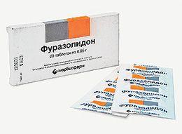Фуразолідон при панкреатиті