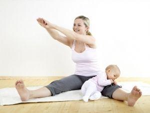 Гімнастика після пологів, для відновлення і схуднення живота