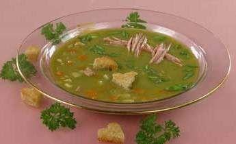 Гороховий суп при панкреатиті