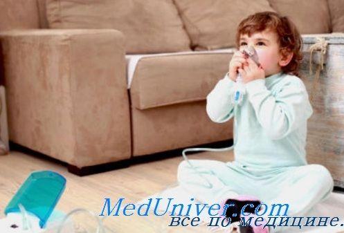 Лікування загострень бронхіальної астми у дітей вдома