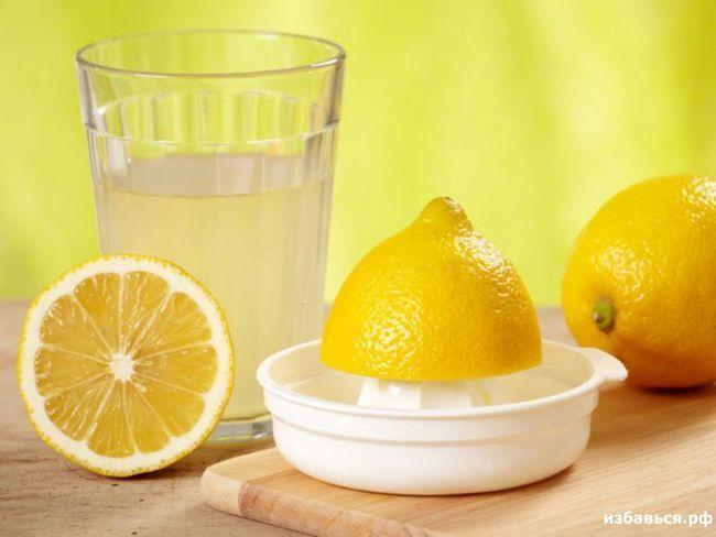 Лимон при проносі
