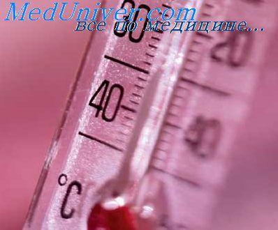 Місцеві шкірні температурні рефлекси. Лихоманка і пірогени