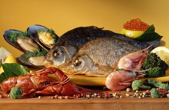 Морепродукти при панкреатиті
