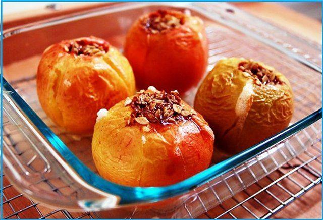 Печені яблука при гастриті