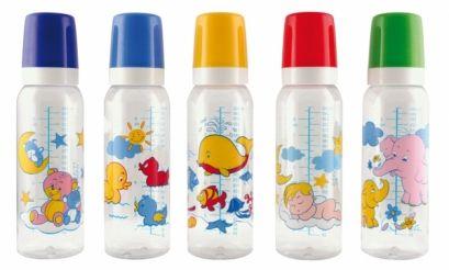 Необхідні речі для годування дитини з пляшечки