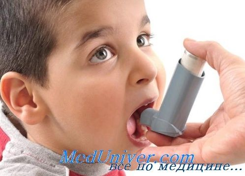 Навчання дітей з бронхіальною астмою лікуванню. Профілактика астми