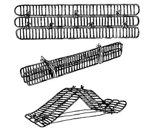 Транспортна шина для фіксації кісток таза при переломах.