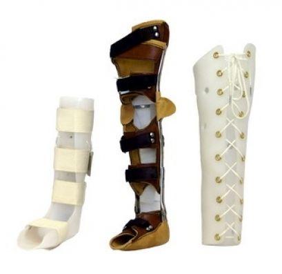 Ортези на ногу для дітей, типу ортезів