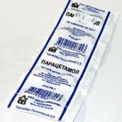 Парацетамол при панкреатиті