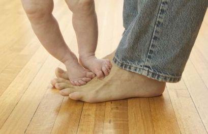 Положення нижньої кінцівки у дітей