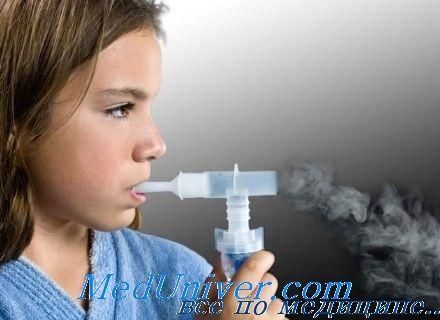 Принципи лікарської терапії дитячої бронхіальної астми