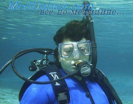 занурення під воду
