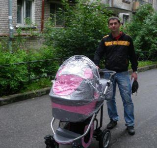 Дитяча коляска androx 2в1 чотириколісного кращий вибір для мене. Дитяча коляска androx milano
