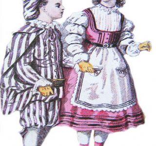 Дитяча мода 19 століття. Історія. Дитячий одяг з`явилася тільки 200 років тому. Історія дитячої моди