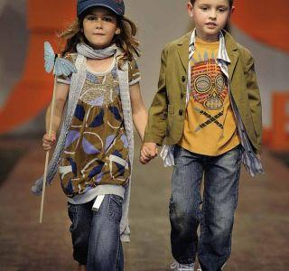 Дитяча стильна джинсовий одяг від