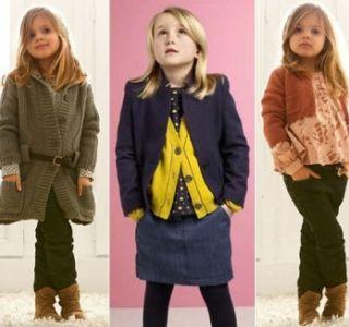 Мода 2013 для дівчаток повертає їх мам на тридцять років назад час подовжених кардиганів великої в`язки з великими гудзиками.