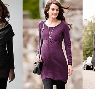 Мода для вагітних. Фото. Зручний одяг і взуття для вагітних