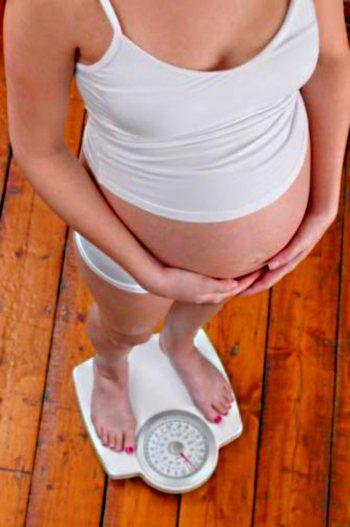 Незначні зміни фігури при вагітності.