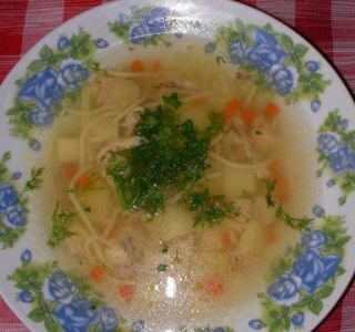 Рецепти приготування дитячих супів