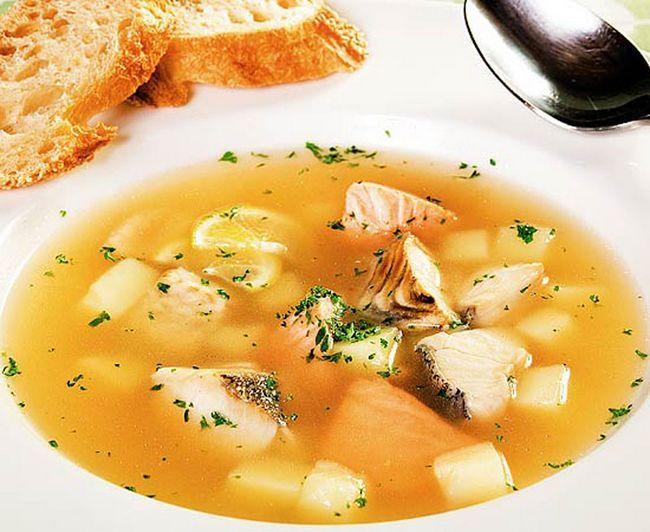 Юшка (рибний суп) при панкреатиті