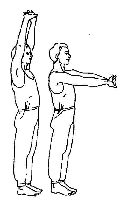 Вправи для плечового пояса (Вправа 2)