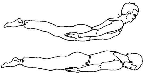 Вправи полегшують болі в спині (Вправа 3)