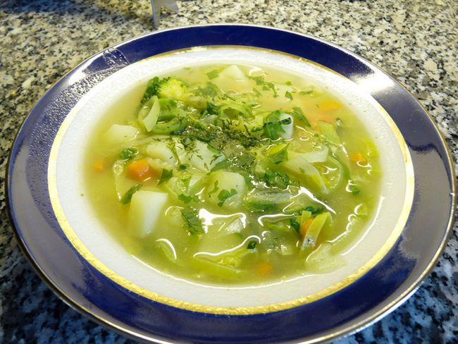 Вегетаріанські супи при панкреатиті, рецепти