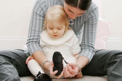 Вплив взуття на стопу і ходьбу дитини